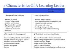4 Characteristics Of Learning Leaders / TeachThought | #readytolead #readytolearn