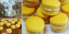 La reina de los MACARONS DE CAFÉ (French Macarons) Si te gusta dinos HOLA y dale a Me Gusta MIREN… | Receitas Soberanas