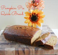Pumpkin Pie Quick Bread