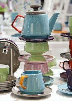 pastel tea time