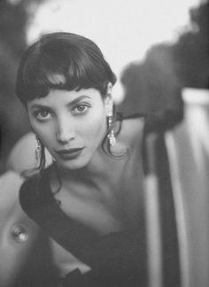 ☆ Christy Turlington -  Photography by Sante D'Orazio for Rena Lange 1994