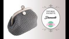 "TUTORIAL CROCHET POCHETTE ""DIAMANTE""   WITH SUB   PUNTO FANTASIA - YouTube"
