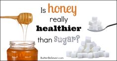 Is honey really healthier than sugar? Find out all about these two sweeteners and get your facts straight!
