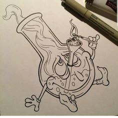 """898 Me gusta, 0 comentarios - LySerGiCwEed (@lysergicweed) en Instagram: """"Tag a friend  Follow @lysergicweed  #weed #420 #weedporn #cannabiscommunity #weedstagram #memes…"""" Sketches, Art, Croquis, Kunst, Draw, Sketch, Gcse Art, Sketching, Sanat"""