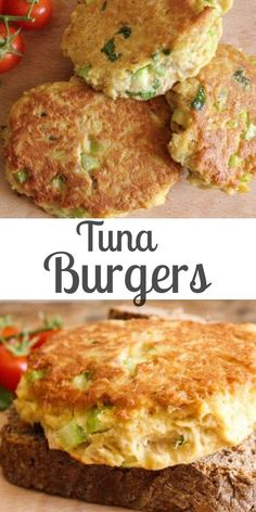 Fish Recipes Tuna Burgers, who needs meat when these Tuna Burgers become the best burger ever. Not only delicious but healthy too!Tuna Burgers, who needs meat when these Tuna Burgers become the best burger ever. Not only delicious but healthy too! Best Fish Recipes, Tilapia Fish Recipes, Salmon Recipes, Healthy Recipes, Recipes With Canned Tuna, Healthy Food, Healthy Meats, Easy Tuna Recipes, Fish Recipes For Kids