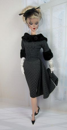 Amazing Grey for Silkstone Barbie and Victoire Roux on Etsy now