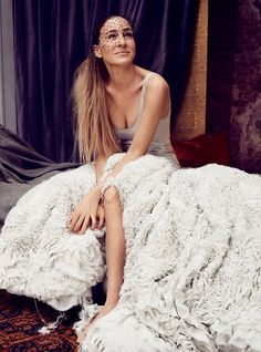 SJP Sarah Jessica Parker in for #Vogue
