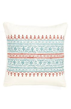 Free shipping and returns on Levtex 'Florence' Accent Pillow at Nordstrom.com. Exquisite two-toned embroidery lends fresh color and subtle texture to a stylish canvas accent pillow.
