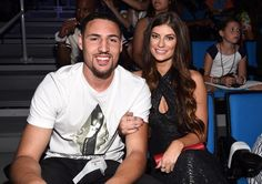 Klay Thompson and ex-girlfriend Hannah Stocking...
