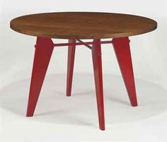 JEAN PROUVE (1901-1984) | A GUERIDON 'CAFETERIA', CIRCA 1950 | 1950s, dining table | Christie's