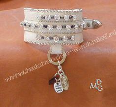 Chiwawa halsbandje - Halsbanden-exclusief Dogs Beauty - MDG-Bead-Embroidery Sieraden en accessoires