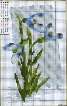 ПОДСНЕЖНИКИ - ПОЛЕВЫЕ ЦВЕТЫ - ЦВЕТЫ - Каталог файлов - ХОББИ Cross Stitching, Cross Stitch Embroidery, Cross Stitch Designs, Cross Stitch Patterns, Easter Cross, Cross Stitch Flowers, Brick Stitch, Crochet Stitches, Crafts To Make