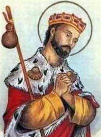 Saint Richard of Lucca, King, pray for us.  Feast day February 7.