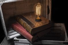 Contraband Book Lamp