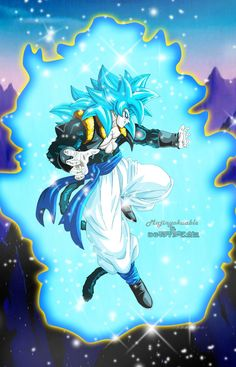 New work! its Rigor super saiyan V from Fan manga Dragon Ball New Age by: Rigor and his design of ssj5 by