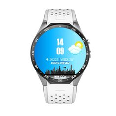 Peison KW88 3G Smart Watch Phone Android 5.1 OS MTK6580 Quad Core Wristwatch AMOLED WIFI GPS Pedometer Heart Rate Monitor (White Band+Silver Case)   Delivery: • Estimated delivery time is 7 to 10 business days to Canada Product Certificates: Read  more http://themarketplacespot.com/peison-kw88-3g-smart-watch-phone-android-5-1-os-mtk6580-quad-core-wristwatch-amoled-wifi-gps-pedometer-heart-rate-monitor-white-bandsilver-case/