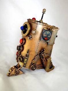 Steampunk R2D21920 by SpaceBoyRobot, via Flickr