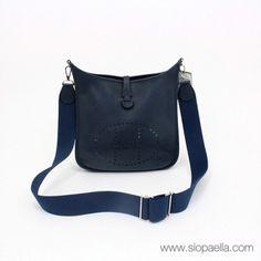 Hermès Evelyne Navy Handbag Siopaella Designer Exchange Dublin