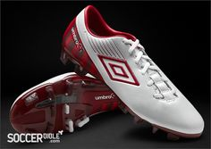 Umbro GT II Pro St George's Collection - White/Vermillion/Claret http://www.soccerbible.com/news/football-boots/archive/2012/04/23/umbro-gt-ii-pro-st-george-s-collection-white-vermillion-claret.aspx