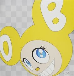 Takashi Murakami: And then, and then and then and then and then (Yellow),