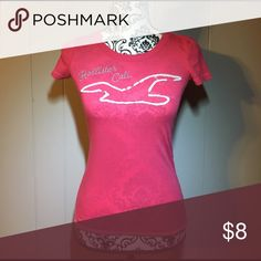 Pink Hollister Tee Hot pink Hollister tshirt. Please feel free to ask any questions or make an offer, and as always THANK YOU for shopping my posh closet! Xoxo -Tish Hollister Tops Tees - Short Sleeve