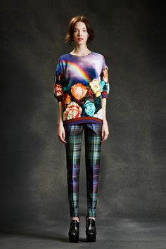 Very vibrant. Clover Canyon Fall 2014 Ready-to-Wear Collection Slideshow on Style.com #fashionweek