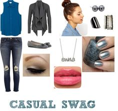 """Casual Swag"" by bellanna on Polyvore"