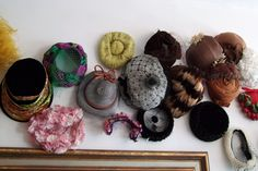 Vintage Hat Collection.