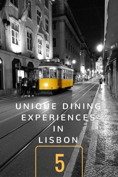 Unforgettable ways to experience the gastronomic pleasures of Lisbon