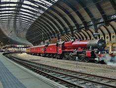 "happyharry101: "" ""Galatea"" - York Station, UK """