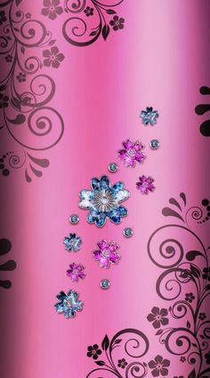 - Best of Wallpapers for Andriod and ios Pink Diamond Wallpaper, Pink Wallpaper Girly, Bling Wallpaper, Scenery Wallpaper, Flower Wallpaper, Cool Wallpaper, Mobile Wallpaper, Wallpaper Backgrounds, Beautiful Flowers Wallpapers