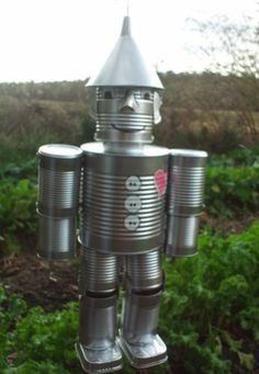 1000 ideas about tin can man on pinterest tin cans for Tin man out of cans