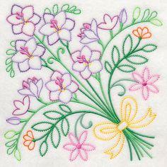 Spring Flower Bouquet (Vintage)