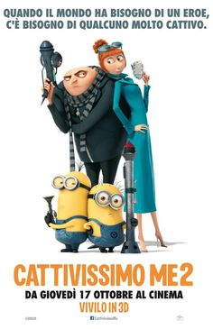 High resolution official theatrical movie poster ( of for Despicable Me 2 Image dimensions: 1595 x Starring Steve Carell, Kristen Wiig, Benjamin Bratt, Miranda Cosgrove Steve Carell, Minions Despicable Me, Minion Movie, Miranda Cosgrove, 3d Kino, Martina Hill, Benjamin Bratt, Cinema, Film D'animation