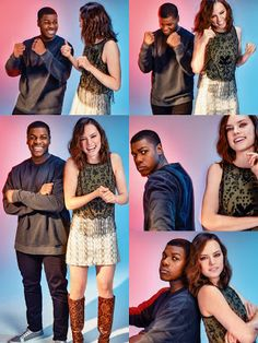 The Star Wars Underworld: John Boyega and Daisy Ridley #StarWars #Finn #Rey Interviewed in ASOS M...