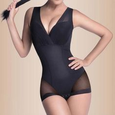 5461486bf37fa Hot Women Firm Tummy Control Body Shapers Slimming Full Slip BodySuits  Shaper Underbust Shapewear