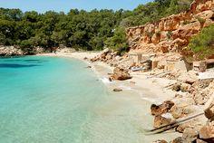 My number 1 beach in Ibiza! Cala Saladeta.