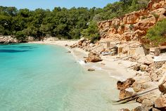 My number 1 beach in Ibiza! Cala Saladeta.