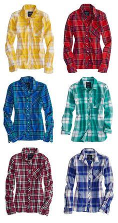 Soft Flannels, Winter Essentials!