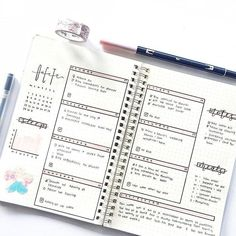 Need some inspiration for a new Bullet Journal Weekly Spread? Here are 30 examples for you to try out and make your own. If you don't know what a bullet journal is, consider reading this post first to get started Tools Before we dive right in, … Future Log Bullet Journal, Bullet Journal Weekly Spread, Bullet Journal Spreads, Bullet Journal Planner, February Bullet Journal, Bullet Journal Cover Page, Bullet Journal Themes, Bullet Journal Inspo, Bullet Journal Layout
