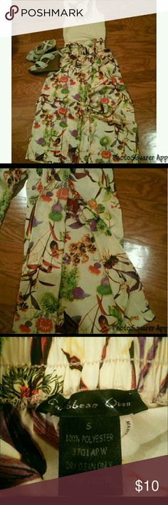 Palazzo beach pants Double split beach pants I am reposhing beautiful pants but unfortunately don't fit me  Listing is for PANTS ONLY! Caribbean Queen Pants Wide Leg