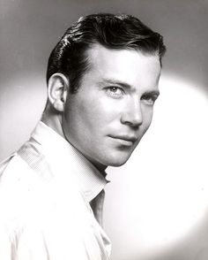 William Shatner, 1961.  Preserve your memories at http://www.saveeverystep.com