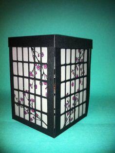 Shoji screen exploding box