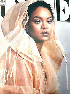 Rihanna Vogue, Rihanna Fenty, Kaia Gerber, Vogue Magazine, Business Women, Im Not Perfect, Singer, November 2019, Actresses