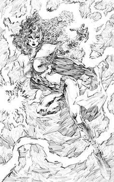 Drawing Superhero Awesome Art Picks: Captain America, Spider-Woman, Boba Fett, and More - Comic Vine Drawing Cartoon Characters, Comic Drawing, Cartoon Drawings, Comic Book Artists, Comic Artist, Comic Books Art, Marvel E Dc, Marvel Girls, Fantasy Paintings