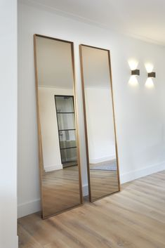 Steel mirror :: Handcrafted steel design mirror :: Atelier Frontstaal rnrnSource by mayascotti House Arch Design, Long Mirror, My New Room, Cool Lighting, Modern Interior Design, Cheap Home Decor, Home Decor Accessories, Home And Living, Interior Inspiration