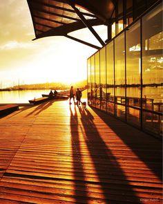 Sunrise on Geelong's Waterfront Australia.  #sunrise #light #sky #geelongwaterfront #nikon #niceweather #victoria #australia #travelgram #thinktankphoto #colorful #summer #nikond4s #summersunrise #silouette #picoftheday #instagood #nikon_photography #geelong #aussiephotos #sailing #boats #sailingboat #carousel #nikontop #nikonphotography #shadows #golden by nigel_hallett_pics http://ift.tt/1JtS0vo
