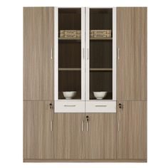 Factory Wholesale Price Commercial Furniture Firepoof 6 Doors Office Wooden  File Cabinet