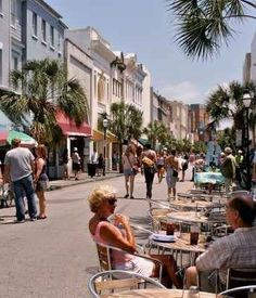 King Street is a Mini Rodeo Drive - Charleston, SC
