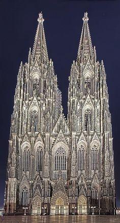 Der Dom, Cologne Cathedral by Birgit Franik.